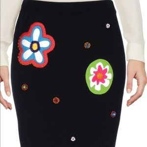 Moschino Couture Knit Mini Skirt Size 12 US